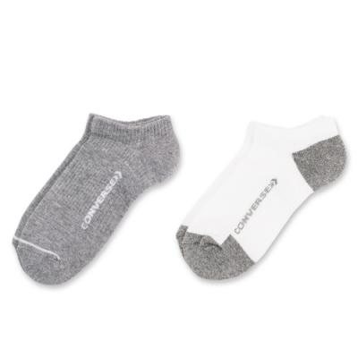 CONVERSE 隱形襪 二入組 (白灰) 10007289-A02