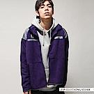 休閒運動拼接仿羊絨夾克(5色) ZIP日本男裝