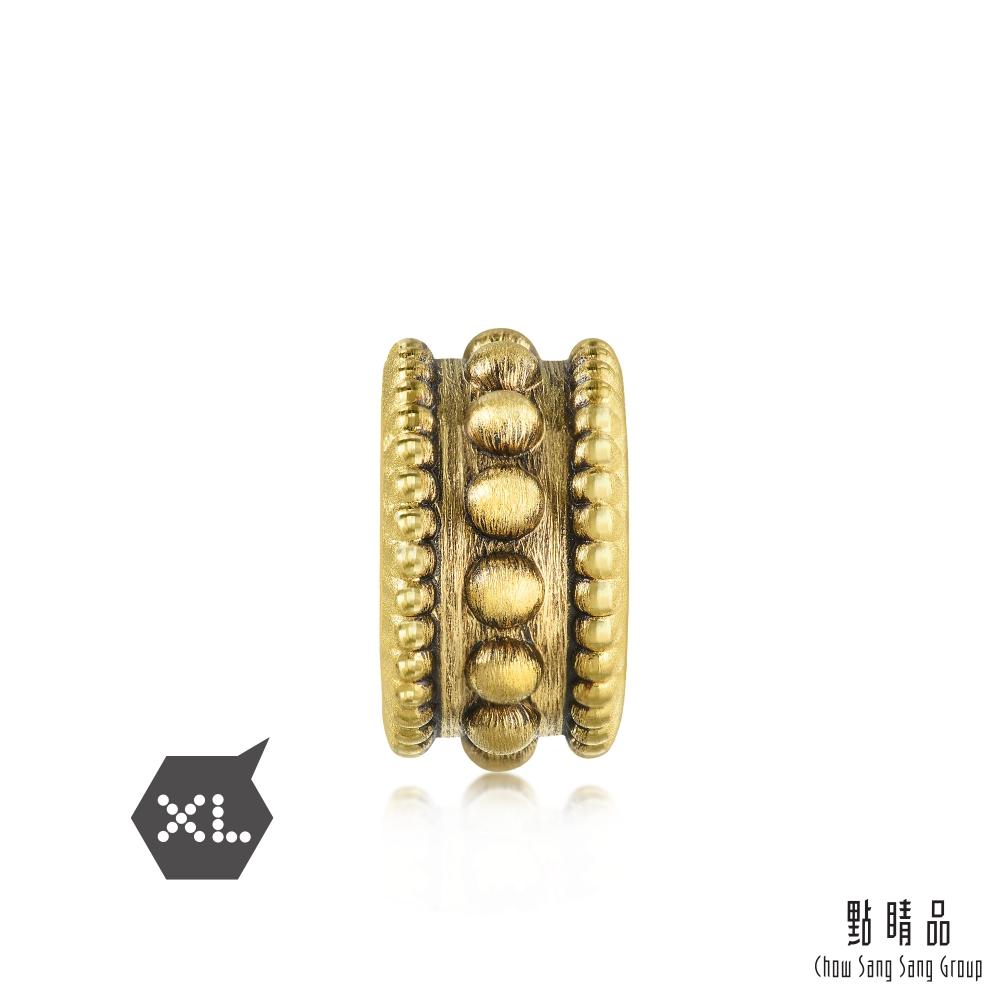 點睛品 Charme XL 酷黑系列 硬朗 黃金串珠
