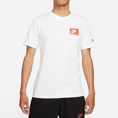 Nike NSW TEE MECH AIR FIGURE機器人 男短袖上衣-白-DJ1398100