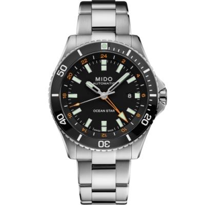 MIDO Ocean Star 海洋之星 GMT 200米潛水機械錶(M0266291105101)44mm