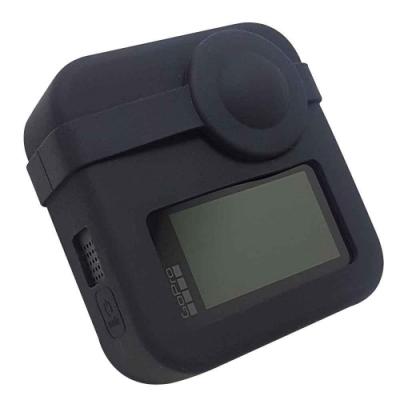 超值組 GoPro MAX 副廠 前後鏡頭+主機保護套 矽膠保護套 防護套