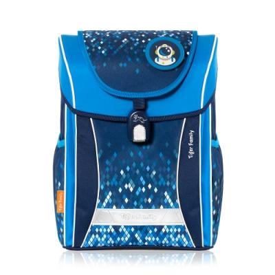 TigerFamily學院風超輕量護脊書包-2色(魔幻紫/冰川藍)