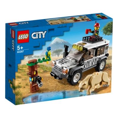 樂高LEGO 城市系列 - LT60267 野生動物園越野車