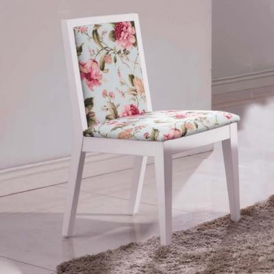 H&D 安娜鄉村白色餐椅