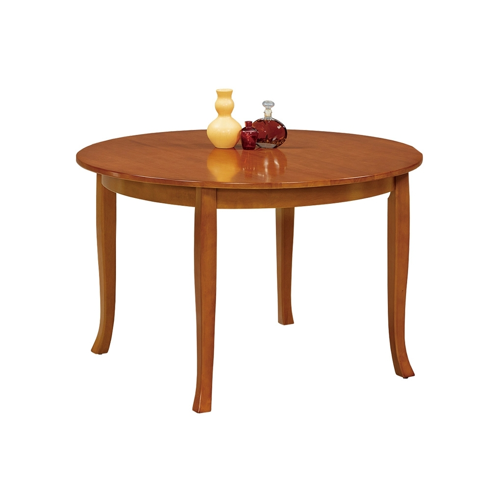 Boden-查克4尺圓形餐桌/洽談桌-120x120x76cm