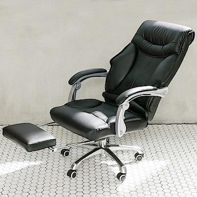 【STYLE 格調】尊爵款高背精密車縫皮革厚實主管椅 / 董事長椅
