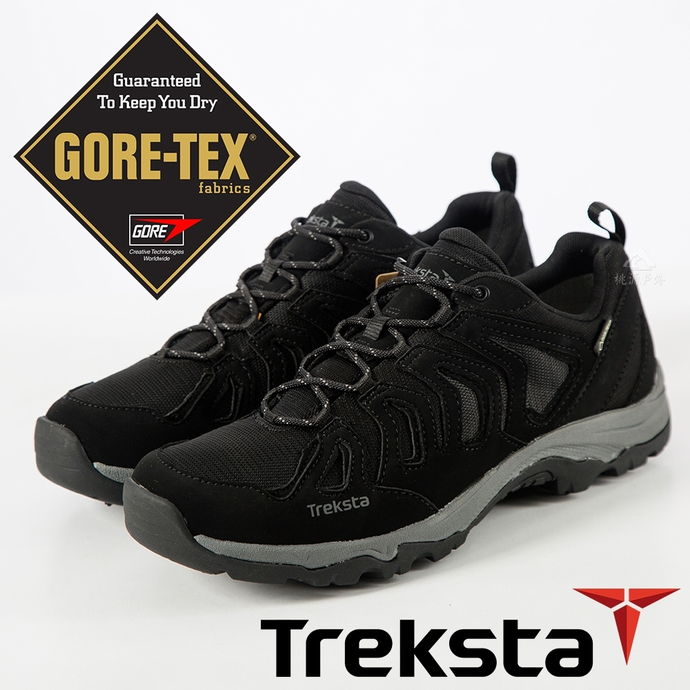 Treksta SPIKE 男GTX防水低筒野跑釘鞋『黑』KR17FM
