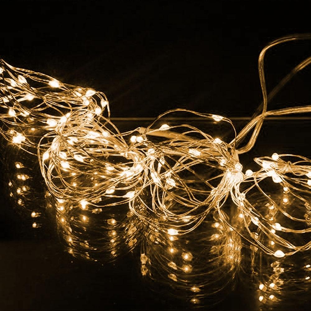 水銀電池LED閃耀多模式星星燈(2入)