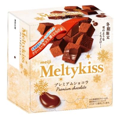 明治 Meltykiss 代可可脂牛奶巧克力 (60g)