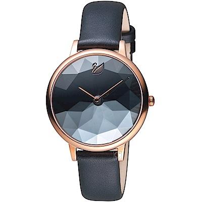 SWAROVSKI施華洛世奇CRYSTAL LAKE嫵媚腕錶(5416009)