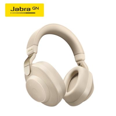 Jabra Elite 85h 頭戴式智能降噪藍牙耳機(柏金)(公司貨)
