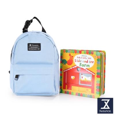 74盎司 Kid兒童後背包[K-033]淺藍