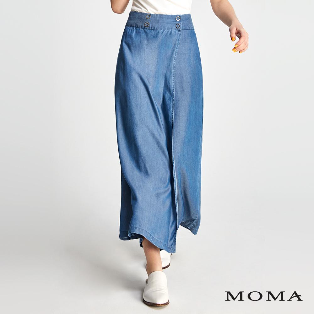 MOMA 天絲牛仔寬褲