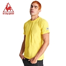le coq sportif 法國公雞牌環法賽傳奇紀念印花聯名短袖T恤 男-黃