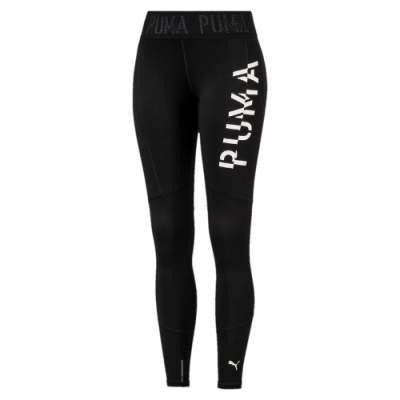 PUMA-女性訓練系列PUMA 9分緊身褲-黑色-歐規