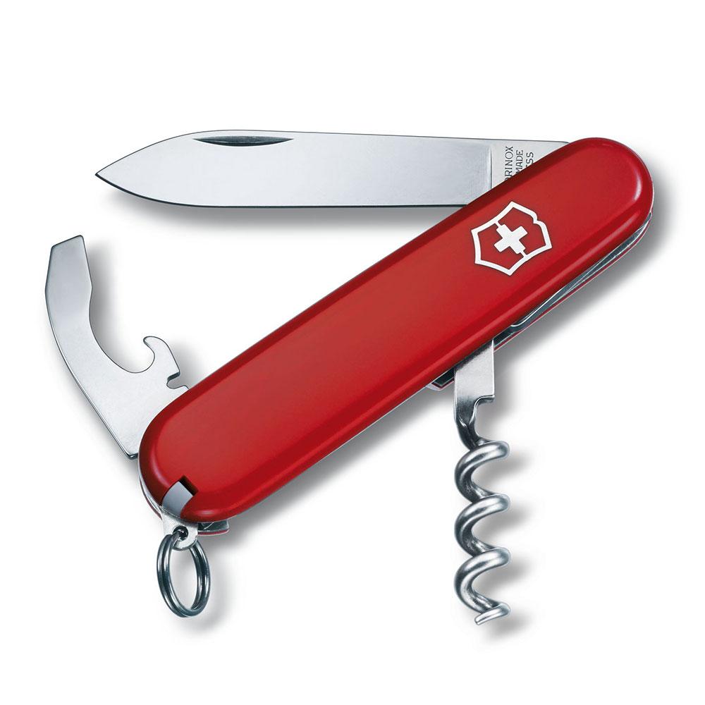VICTORINOX瑞士維氏 84mm Waiter 9用瑞士刀/工具刀 0.3303