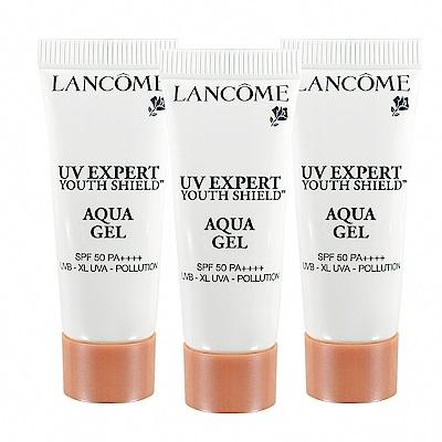 Lancome 蘭蔻 超輕盈UV水凝露 SPF 50++++ 10ml 超值3入組