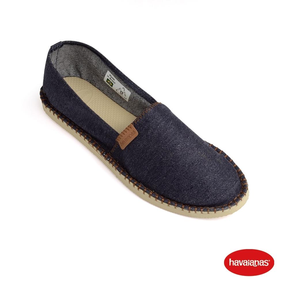 Havaianas 哈瓦仕 平底鞋 懶人鞋 休閒鞋  巴西 女鞋 海軍藍 4145540-0555L Espadrille Denim平底鞋