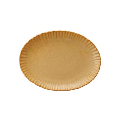日本 MEISTER HAND FLOR 蛋糕盤瑪格麗特-焦糖黃