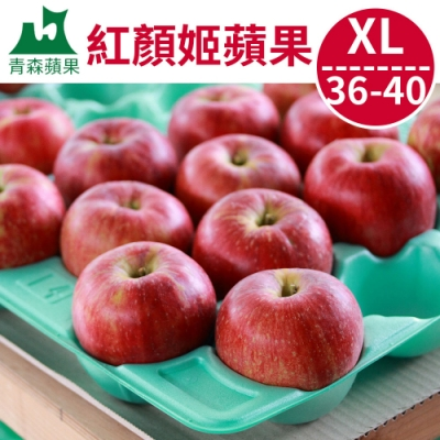 [ 甜露露]青森紅顏姬蘋果XL 36-40顆入(10.5kg)