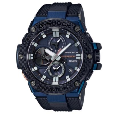 CASIO G-SHOCK 競速太陽能運動腕錶/GST-B100XB-2ADR