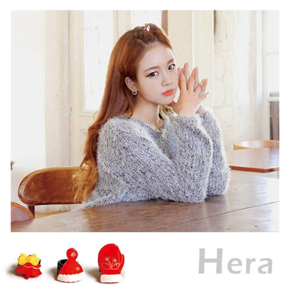 Hera赫拉-聖誕節小禮物禮品推薦瀏海兒童成人髮扣(5款任選)