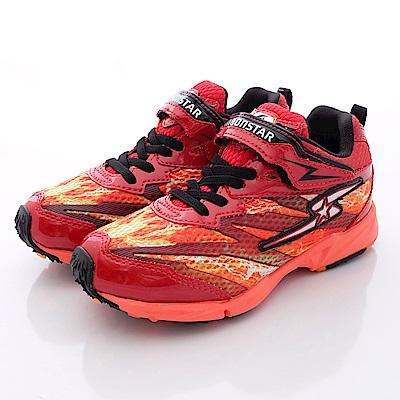 日本月星頂級競速童鞋 2E閃電運動系列 SE112紅(中大童段)
