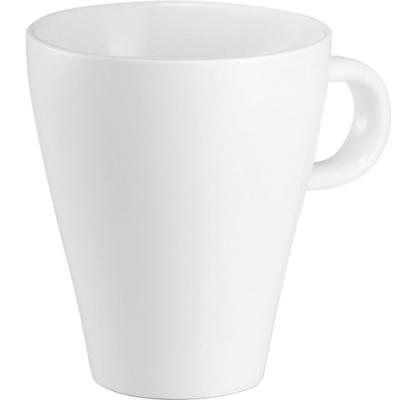 《TESCOMA》白瓷寬口馬克杯(280ml)