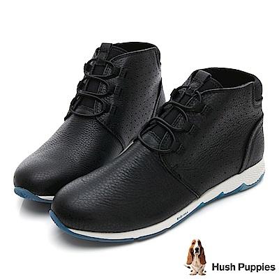 Hush Puppies CESKY 機能健走短靴-黑