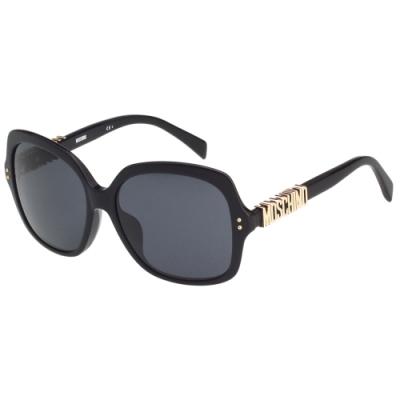 Moschino 經典字母款 太陽眼鏡(黑色)
