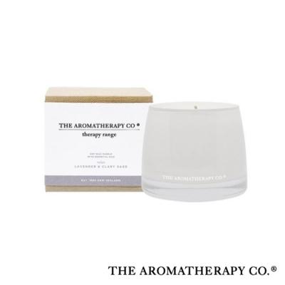 The Aromatherapy Co. 紐西蘭天然香氛 Therapy系列 鼠尾薰衣草 Lavender and Clary Sage 260g 香氛蠟燭