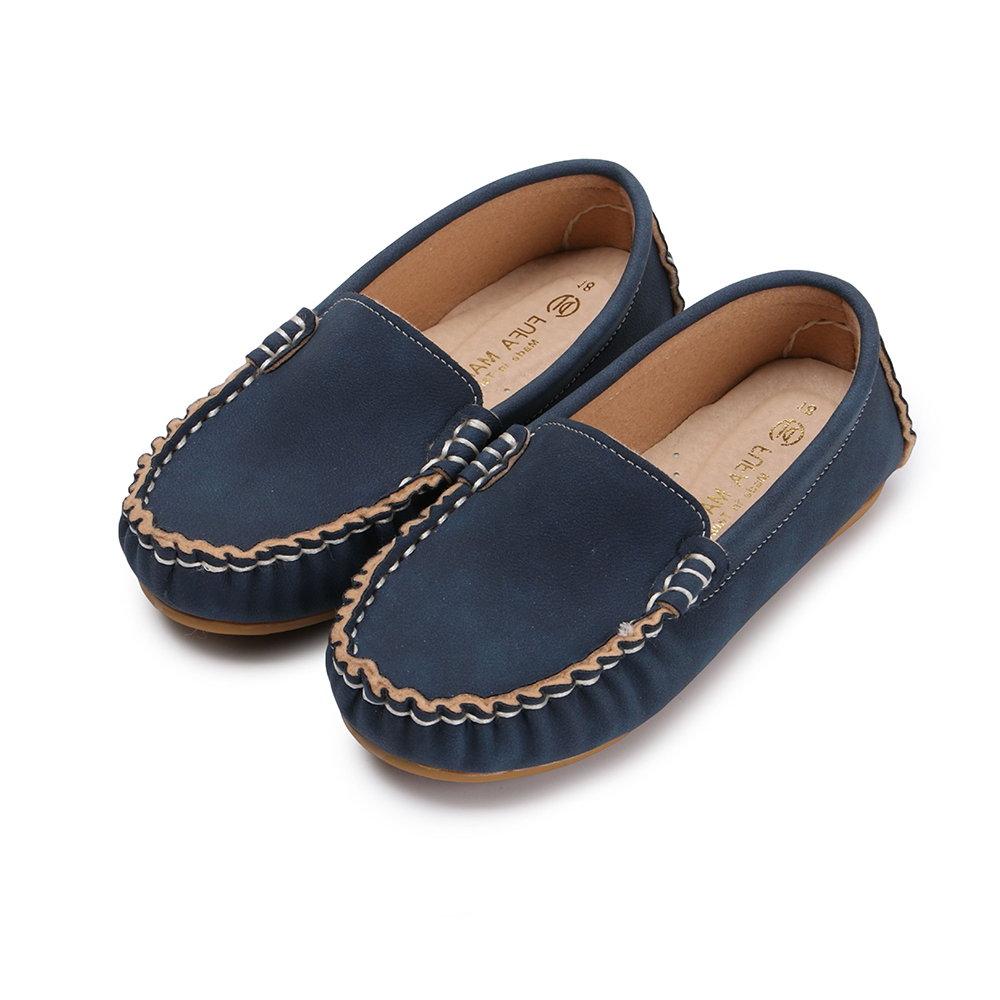 BuyGlasses 簡約輕柔兒童樂福鞋-藍