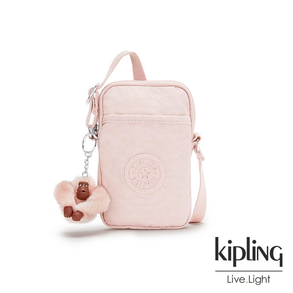 Kipling 甜美粉嫩色可愛長方形小包-TALLY