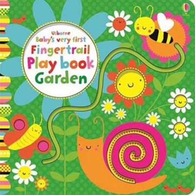 Baby s Very First Fingertrail Play Book Garden 操作書
