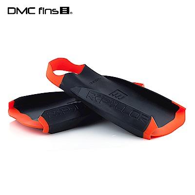 澳洲DMC 訓練用專業蛙鞋 黑橘 REPELLOR FINS