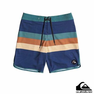 【QUIKSILVER】VISTA BEACHSHORT 19 衝浪褲 海軍藍