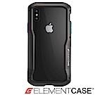 美國 ELEMENT CASE iPhone XS/X VAPOR-S高階金屬防摔殼-黑