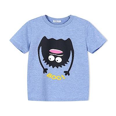 Balabala巴拉巴拉-小怪獸牙齒圖案造型T恤-男(2色)