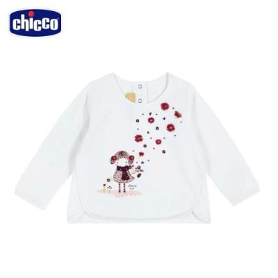 chicco-秋之花園-花朵少女長袖上衣