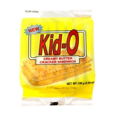 Kid-O日清 三明治餅乾-奶油口味(120g)