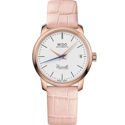 MIDO 美度 Baroncelli Heritage永恆系列復刻機械女錶 M0272073601000-33mm