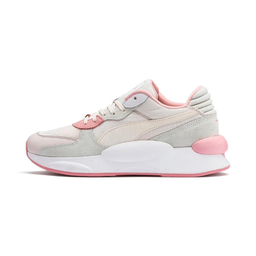 PUMA-RS 9.8 SPACE 女性復古慢跑運動鞋-輕柔粉
