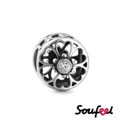 SOUFEEL索菲爾 925純銀珠飾  愛之花 串珠