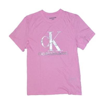 Calvin Klein CK 女 短袖 T恤 粉紅1361