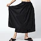 正反兩穿片裙接擺寬襬褲裙-(共二色)Andstyle