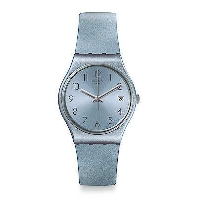 Swatch AZULBAYA 閃耀炫藍手錶