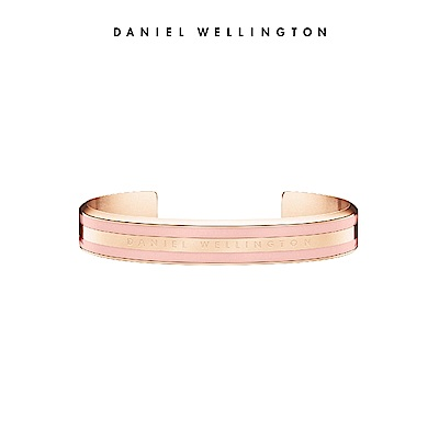 DW 手環 Classic Bracelet 時尚奢華手鐲 玫瑰金x粉紅-S