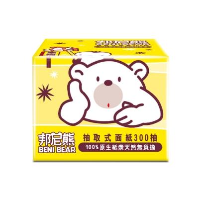 BeniBear邦尼熊抽取式柔式紙巾300抽x30包/箱