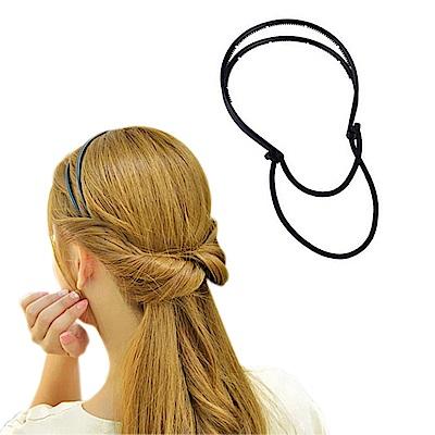 日本Kiret 髮箍簡易式編髮器(顏色隨機)